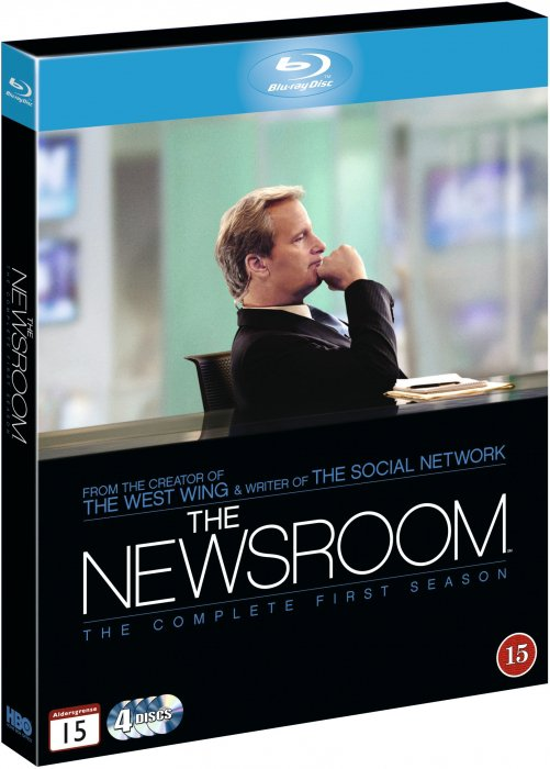 The Newsroom - Sæson 1 - Hbo - Blu-Ray - Tv-serie