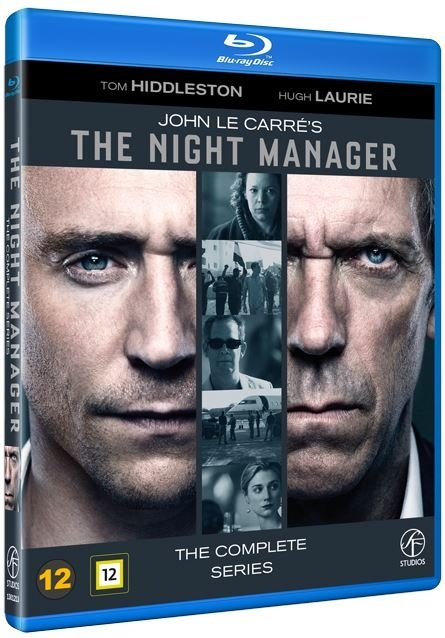 The Night Manager / Natportieren - The Complete Series - Blu-Ray - Tv-serie