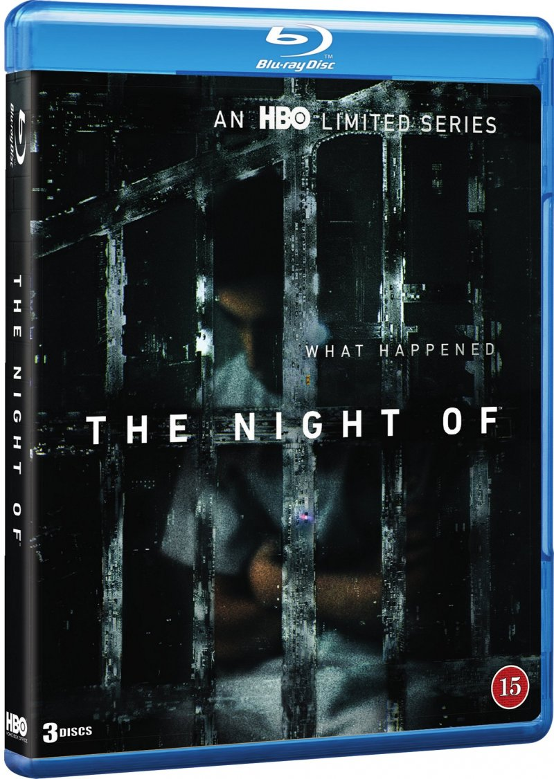 The Night Of - Hbo - Blu-Ray - Tv-serie