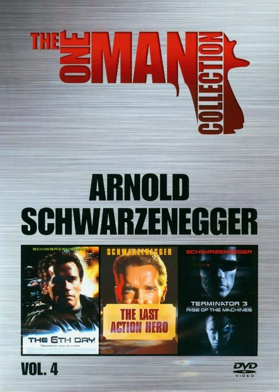 Image of   6th Day // Last Action Hero // Terminator 3 - DVD - Film