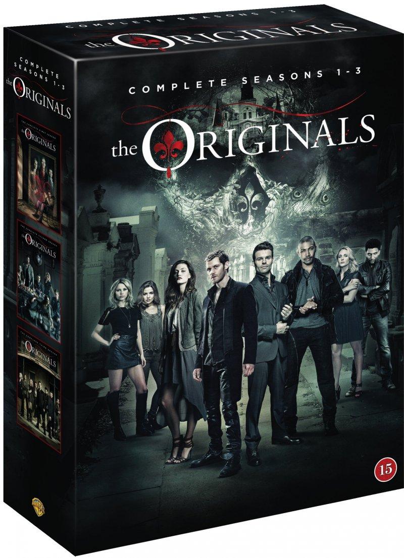 The Originals - Sæson 1-3  - DVD - Tv-serie