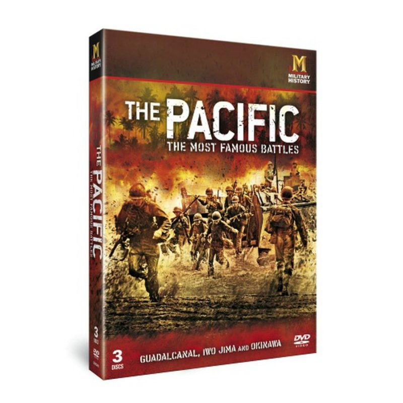 Billede af The Pacific - The Most Famous Battles - History Channel - DVD - Tv-serie