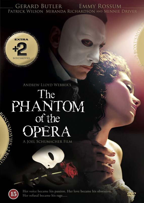 Image of   The Phantom Of The Opera // To Russia With Elton // Luciano Pavarotti Interview - DVD - Film