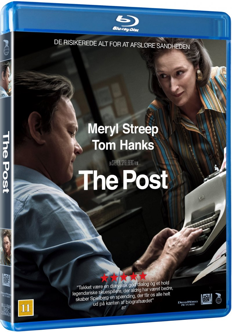 Image of   The Post - 2017 - Blu-Ray