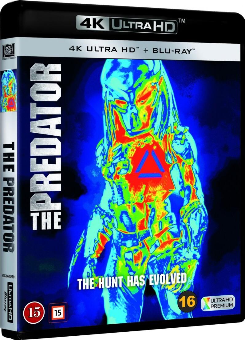 Image of   The Predator - 4K Blu-Ray