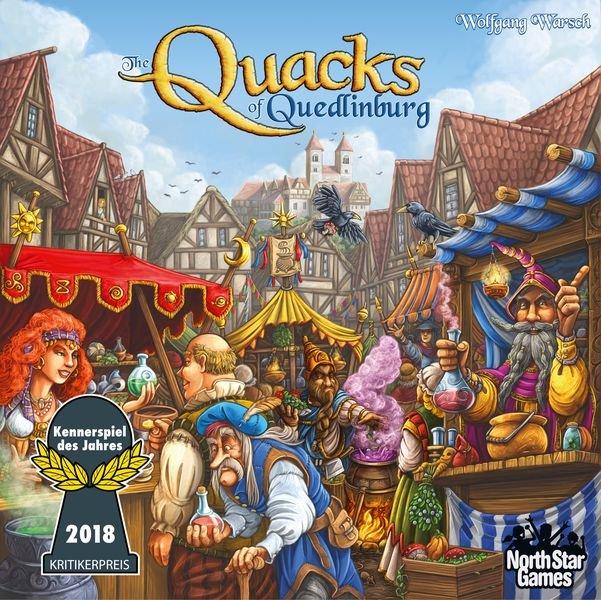 The Quacks Of Quedlinburg - Brætspil På Engelsk