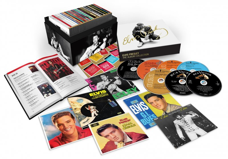 Image of   Elvis Presley - The Rca Albums Collection - CD