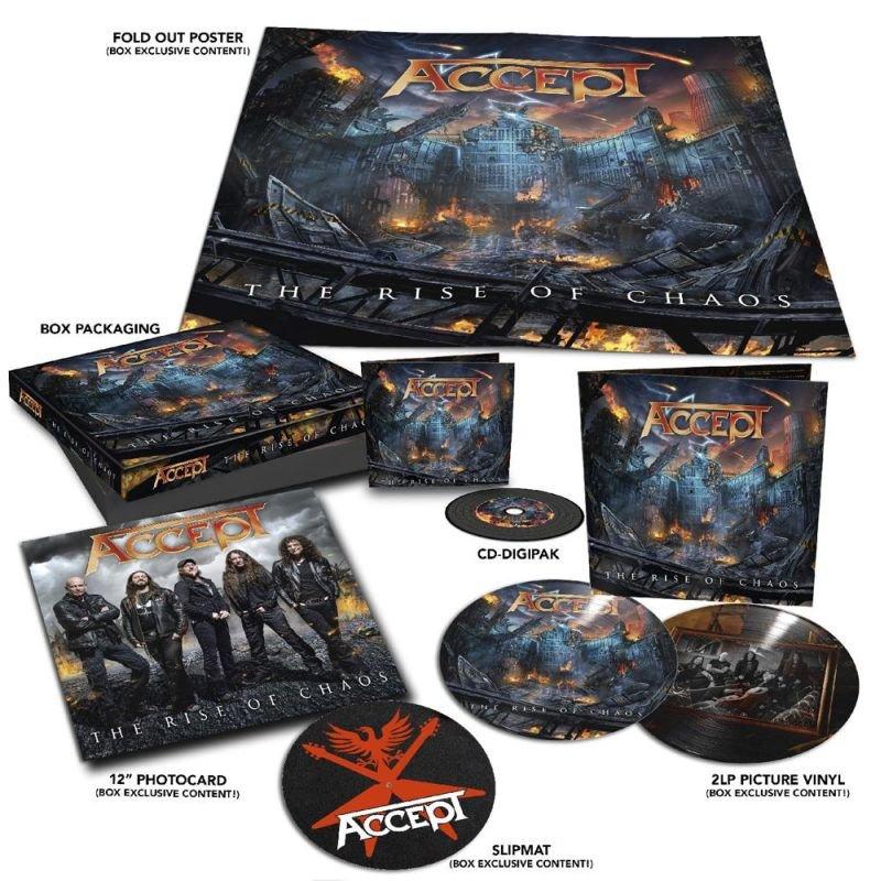 Image of   Accept - The Rise Of Chaos (lp+cd) - Vinyl / LP