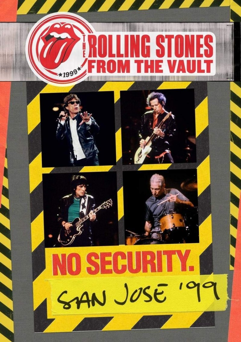 The Rolling Stones From The Vault: No Security - San Jose 1999 - DVD - Film