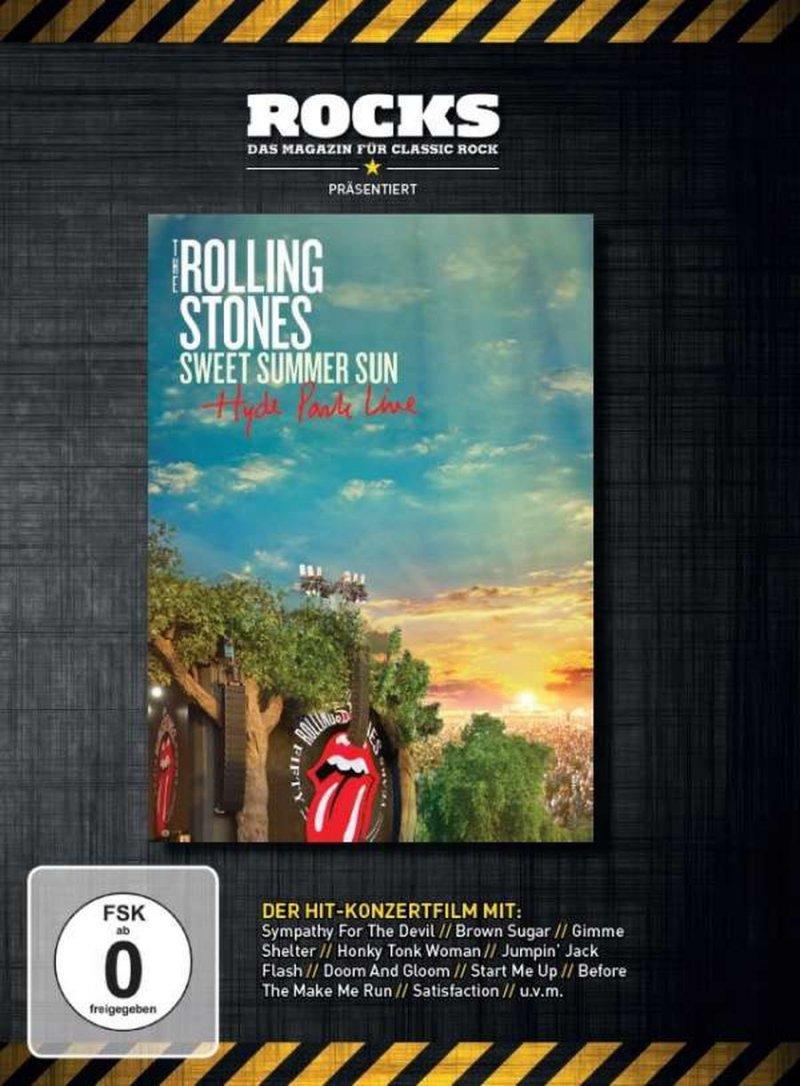 Billede af The Rolling Stones - Sweet Summer Sun - Hyde Park Live - DVD - Film
