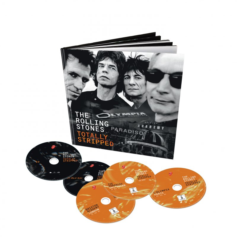 The Rolling Stones: Totally Stripped Deluxe - 4 Blu-ray+cd - Blu-Ray