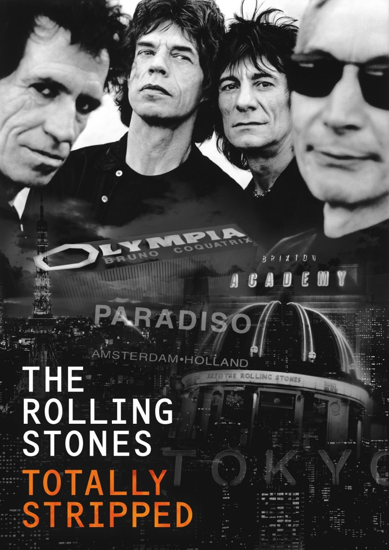 Billede af The Rolling Stones - Totally Stripped - DVD - Film