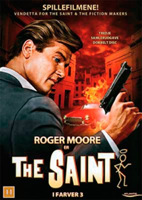 Billede af Helgenen / The Saint - Vendetta For The Saint // The Fiction Makers - DVD - Tv-serie