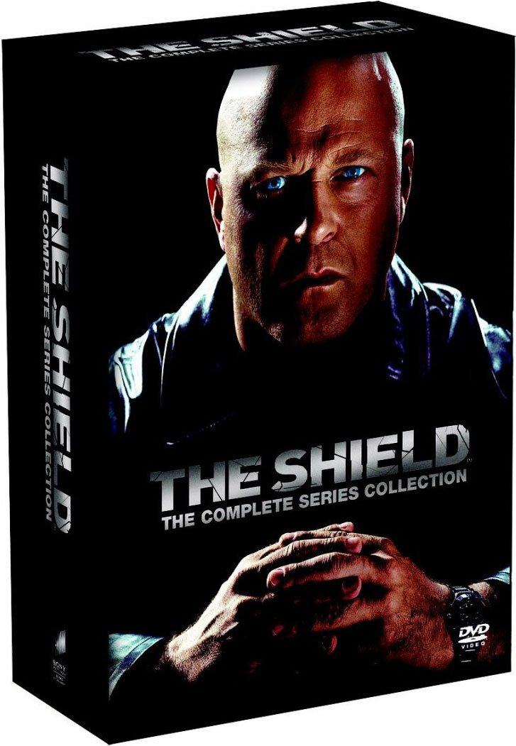 Image of   The Shield - Den Komplette Serie - DVD - Tv-serie