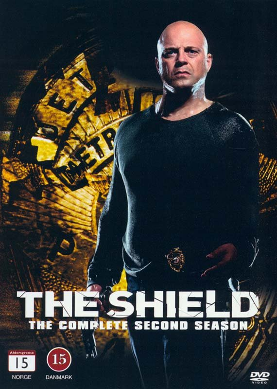 Image of   The Shield - Sæson 2 - DVD - Tv-serie