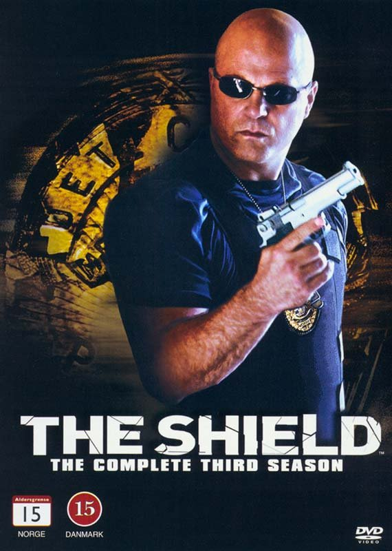 Image of   The Shield - Sæson 3 - DVD - Tv-serie