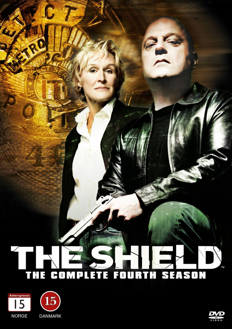 Image of   The Shield - Sæson 4 - DVD - Tv-serie