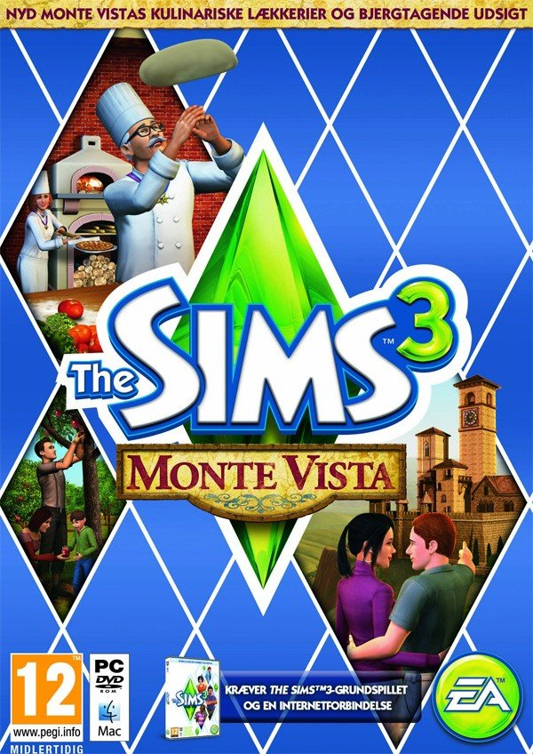 Image of   The Sims 3 - Monte Vista (pc And Mac) - PC