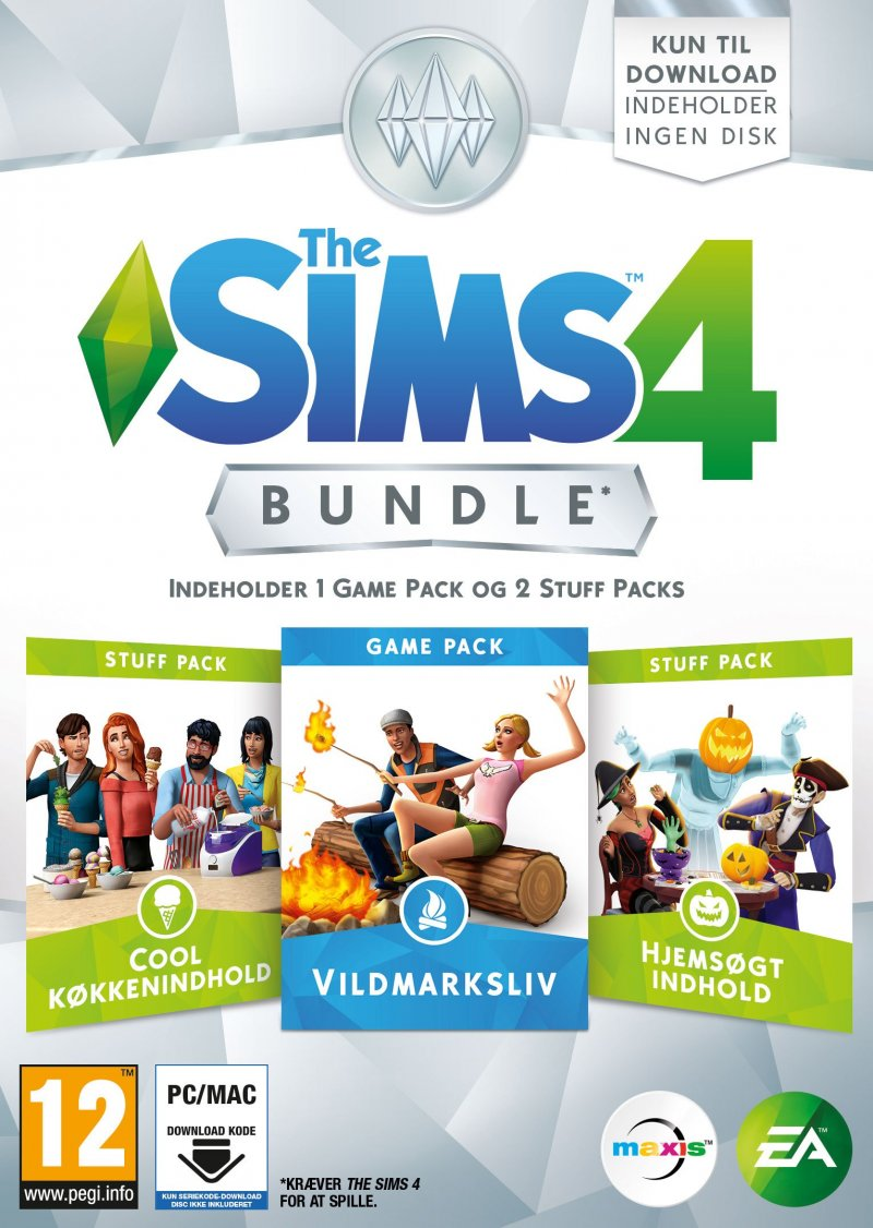 Image of   The Sims 4 - Bundle Pack 3 (dk) - PC