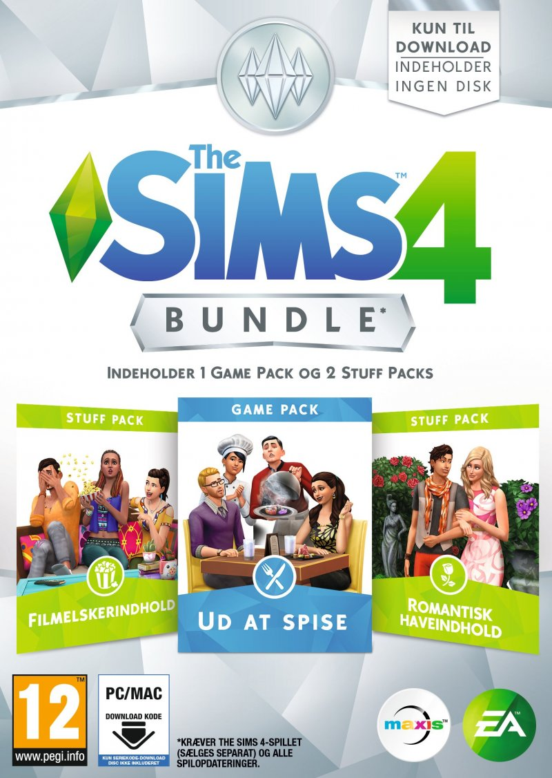 Image of   The Sims 4 - Bundle Pack 5 (dk) - PC