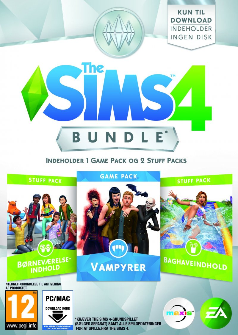 Image of   The Sims 4 - Bundle Pack 7 (dk) - PC