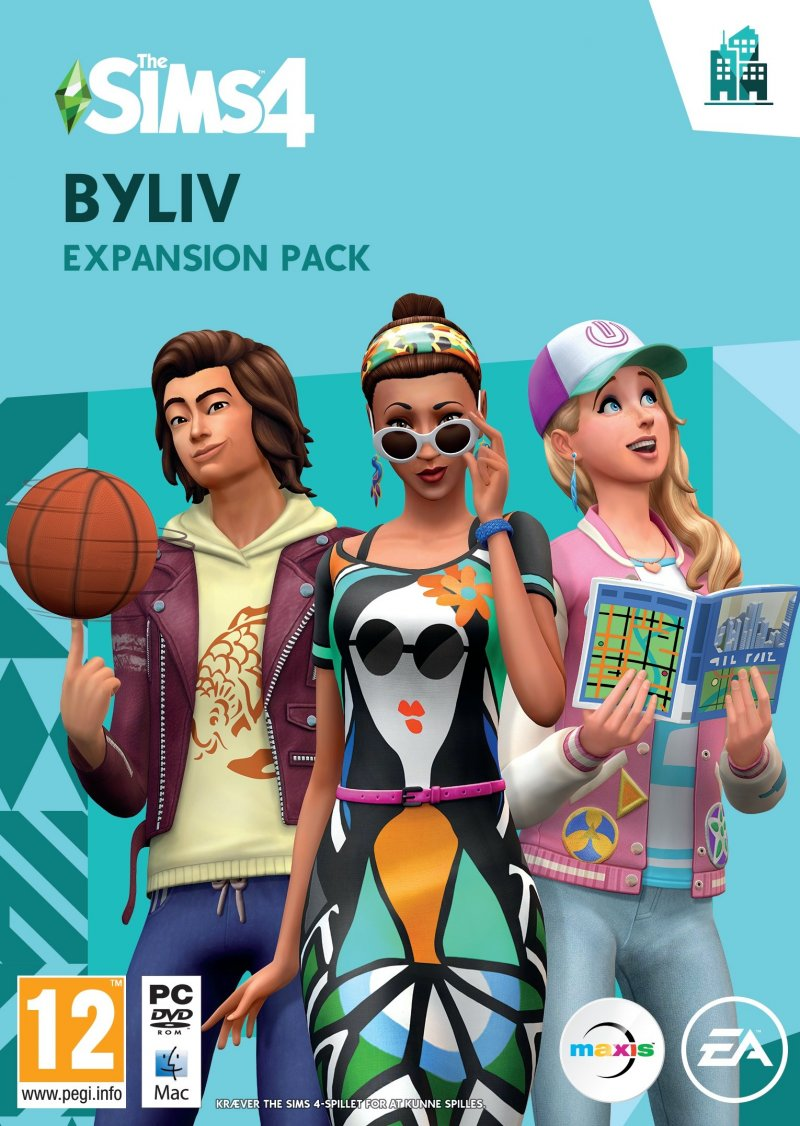 Image of   The Sims 4 - Byliv (city Living) (da) - PC