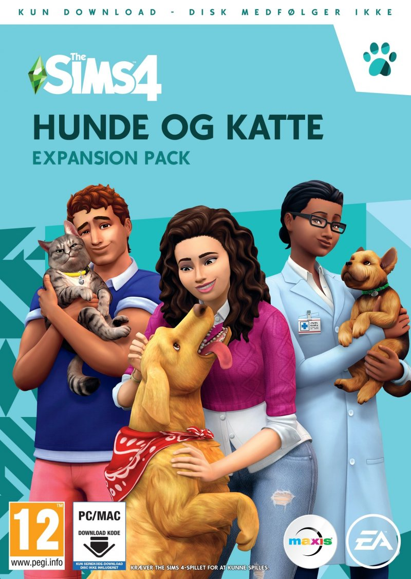 Image of   The Sims 4: Cats And Dogs (dk) - PC