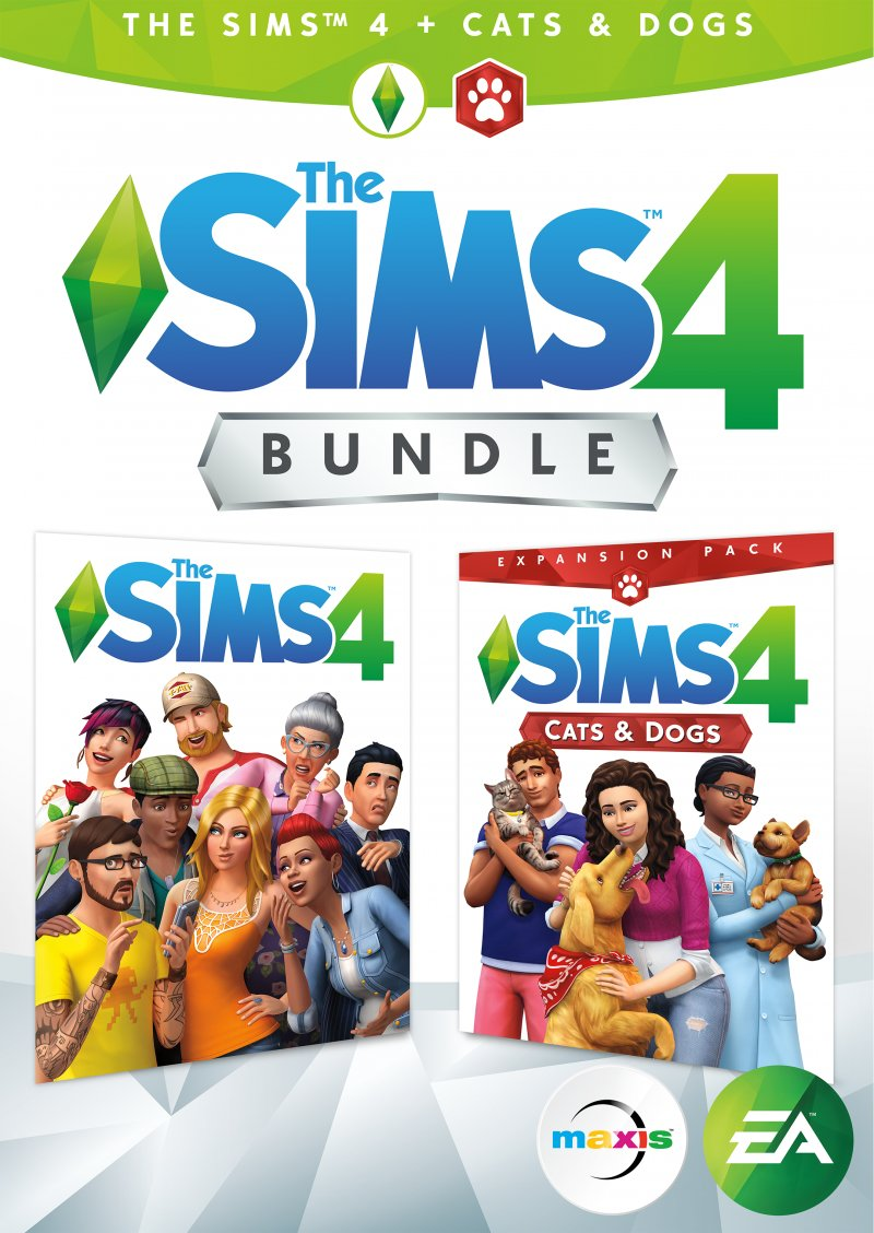 Image of   The Sims 4 + Cats & Dogs (dk) - PC