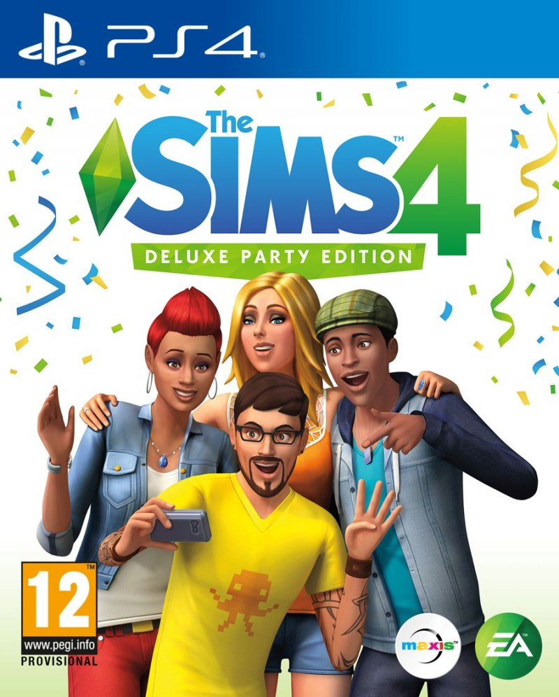 Image of   The Sims 4 (nordic) - Deluxe Party Edition - PS4