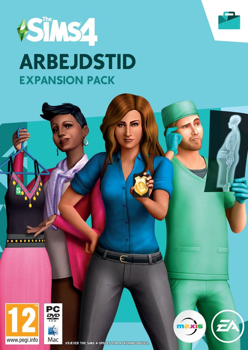 Image of   The Sims 4 - Arbejdstid - PC