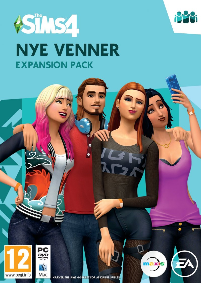 Image of   The Sims 4: Get Together (nye Venner) (dk) - PC