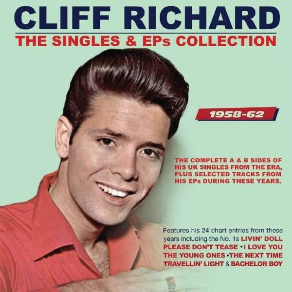 Image of   Cliff Richard - The Singles & Eps Collection 1958-1962 - CD