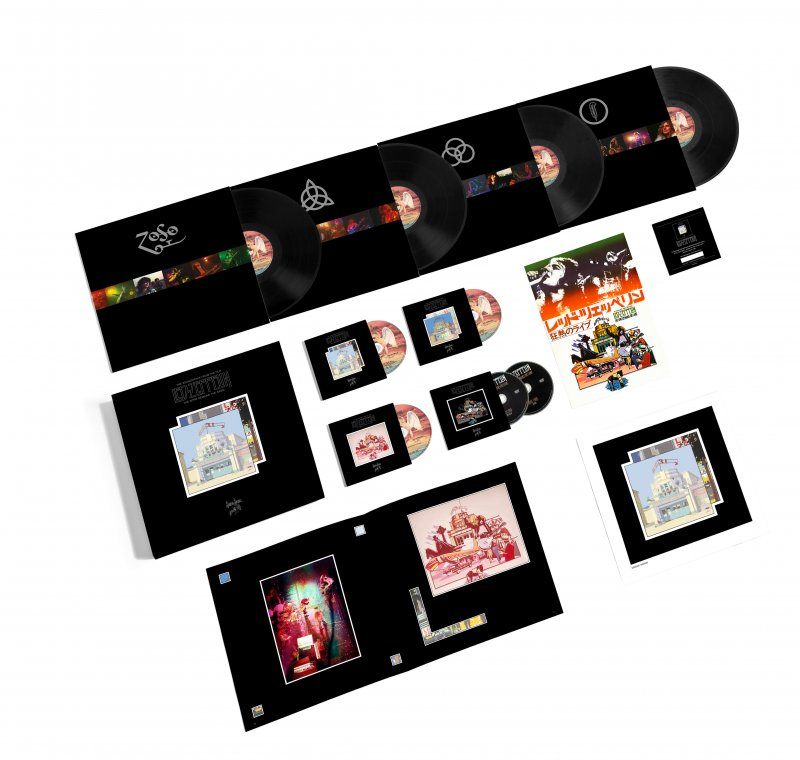 Led Zeppelin - The Song Remains The Same - Super Deluxe Box Set - CD