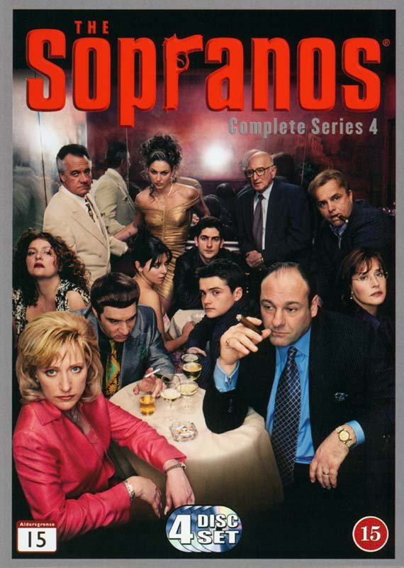 Image of   The Sopranos - Sæson 4 - Hbo - DVD - Tv-serie