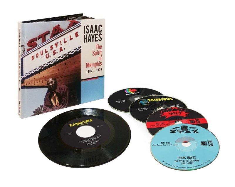 Billede af Isaac Hayes - The Spirit Of Memphis 1962-1976 - (cd+ep) - CD