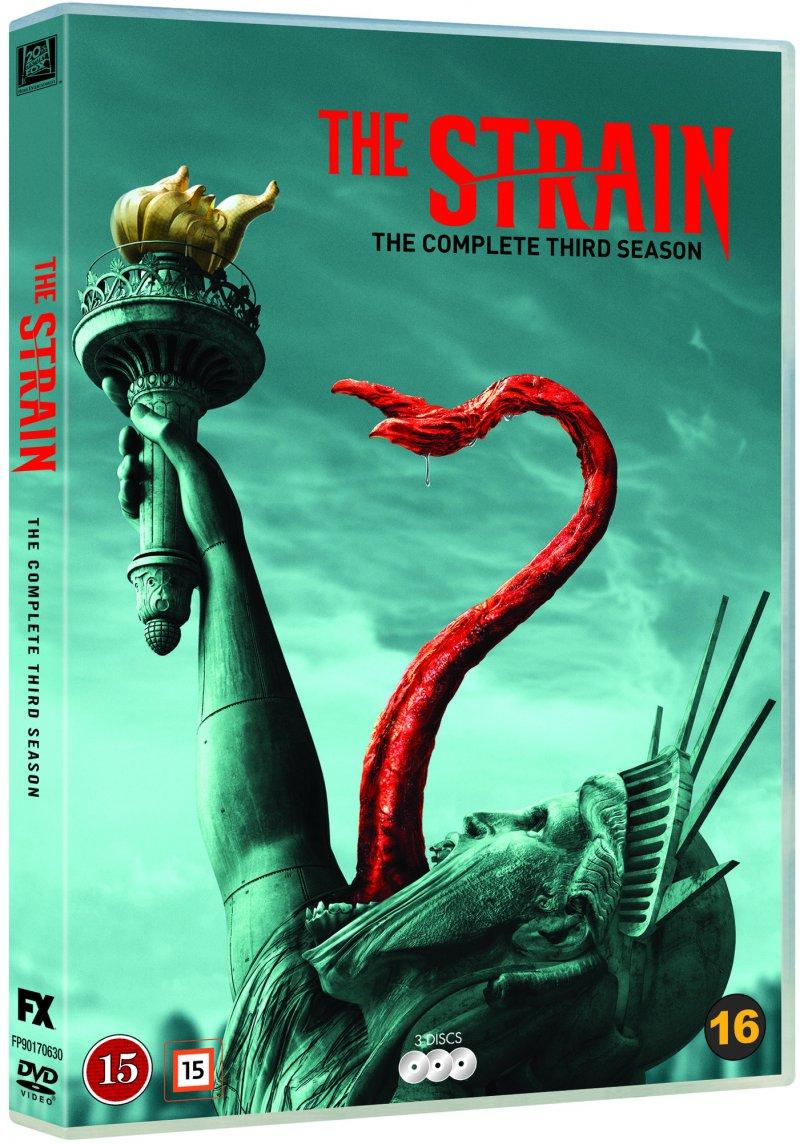 The Strain - Sæson 3 - DVD - Tv-serie