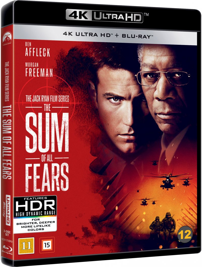 Billede af The Sum Of All Fears - 4K Blu-Ray