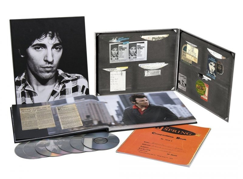 Bruce Springsteen - The Ties That Bind - River Collection 4 Cd + 2 Blu-ray - CD