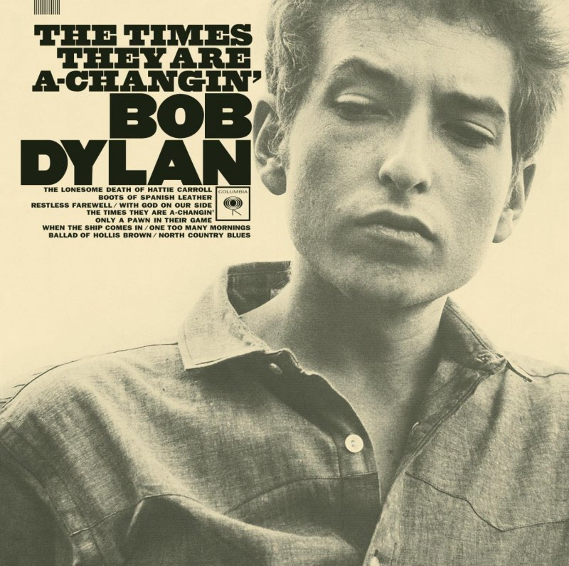 Image of   Bob Dylan - The Times They Are A-changin - Vinyl / LP