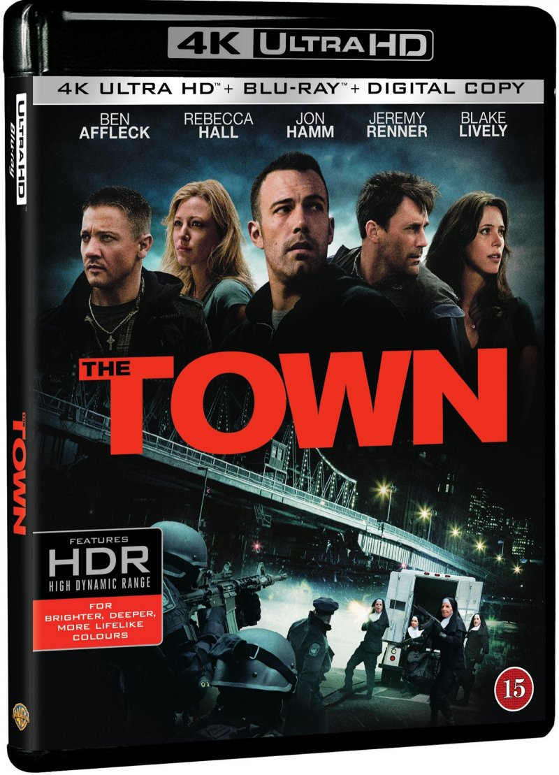 Image of   The Town - 4K Blu-Ray