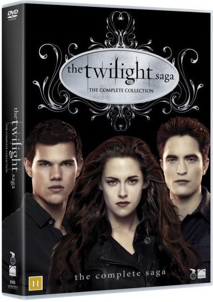 Image of   The Twilight Saga Box - Den Komplette Saga - DVD - Film
