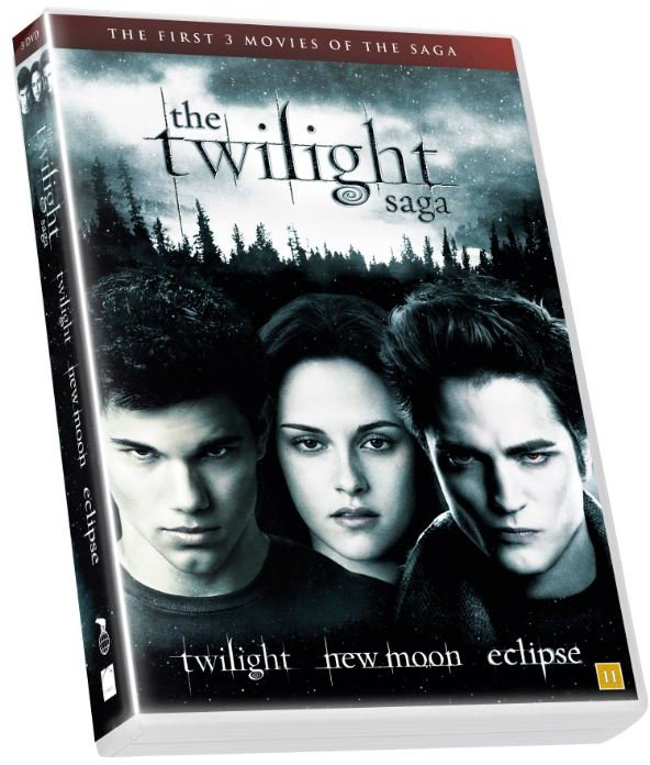 Image of   The Twilight Saga Trilogy - 1: Twilight // 2: New Moon // 3: Eclipse - DVD - Film