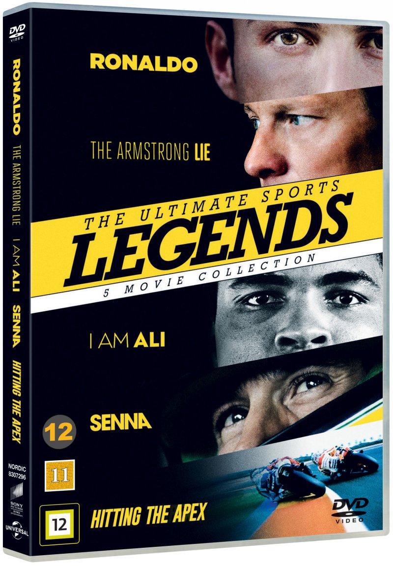 Billede af Ronaldo // The Armstrong Lie // I Am Ali // Senna // Hitting The Apex - DVD - Film
