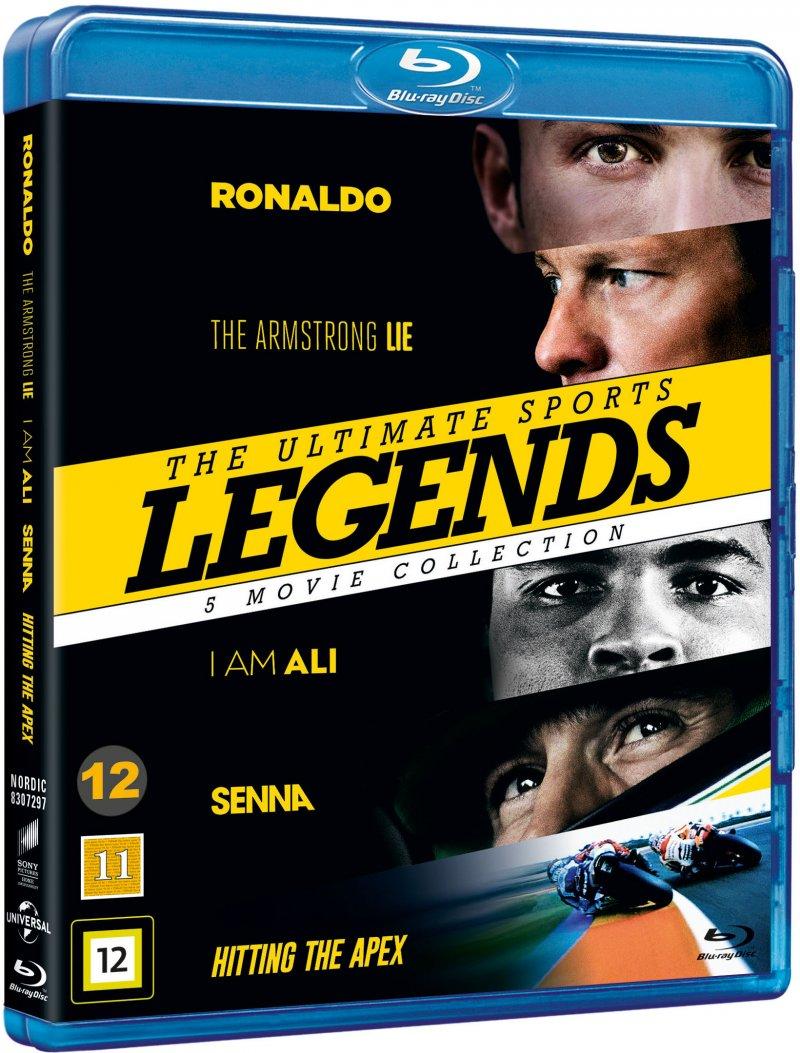 Image of   Ronaldo // The Armstrong Lie // I Am Ali // Senna // Hitting The Apex - Blu-Ray