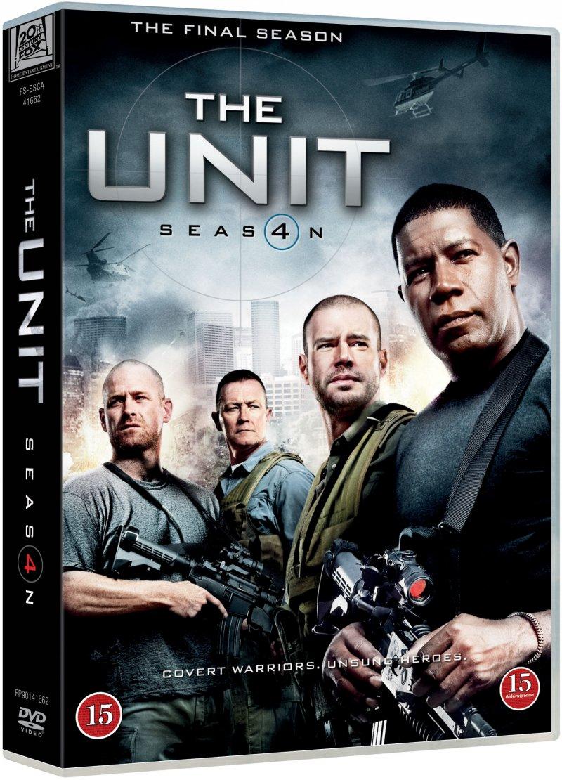 Billede af The Unit - Sæson 4 - DVD - Tv-serie