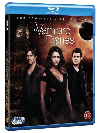 The Vampire Diaries - Sæson 6 - Blu-Ray - Tv-serie