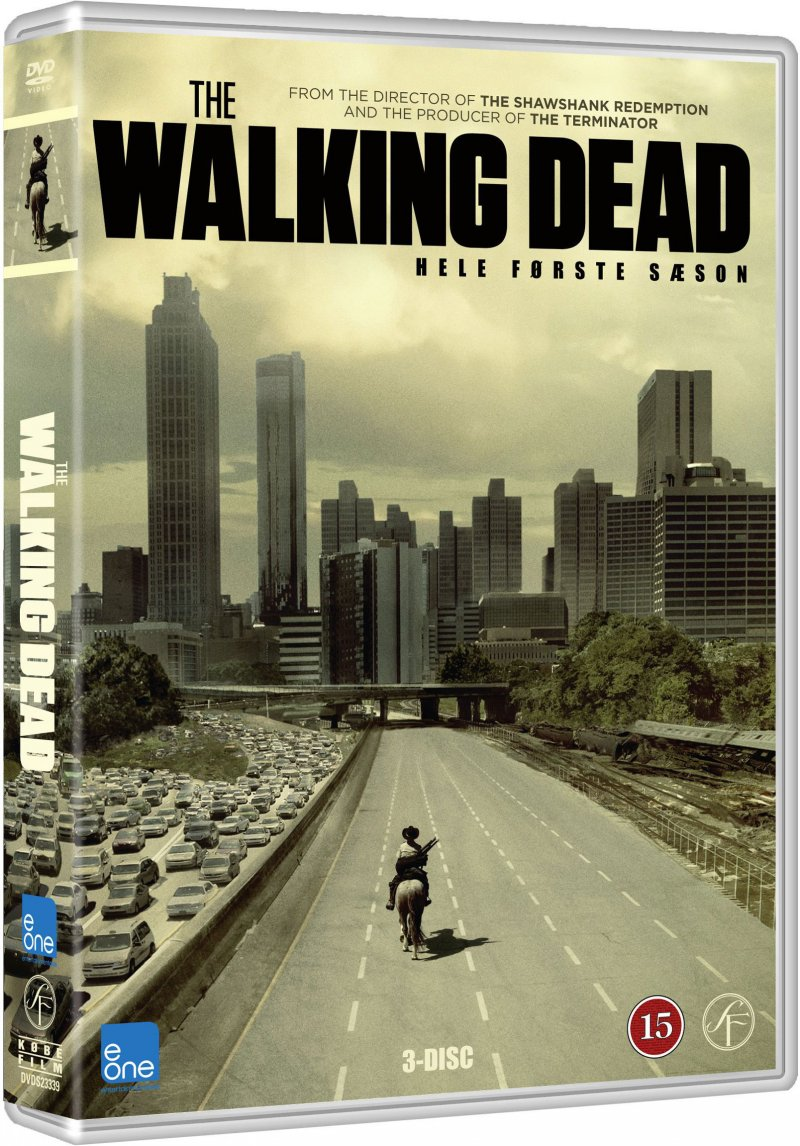 Image of   The Walking Dead - Sæson 1 - DVD - Tv-serie