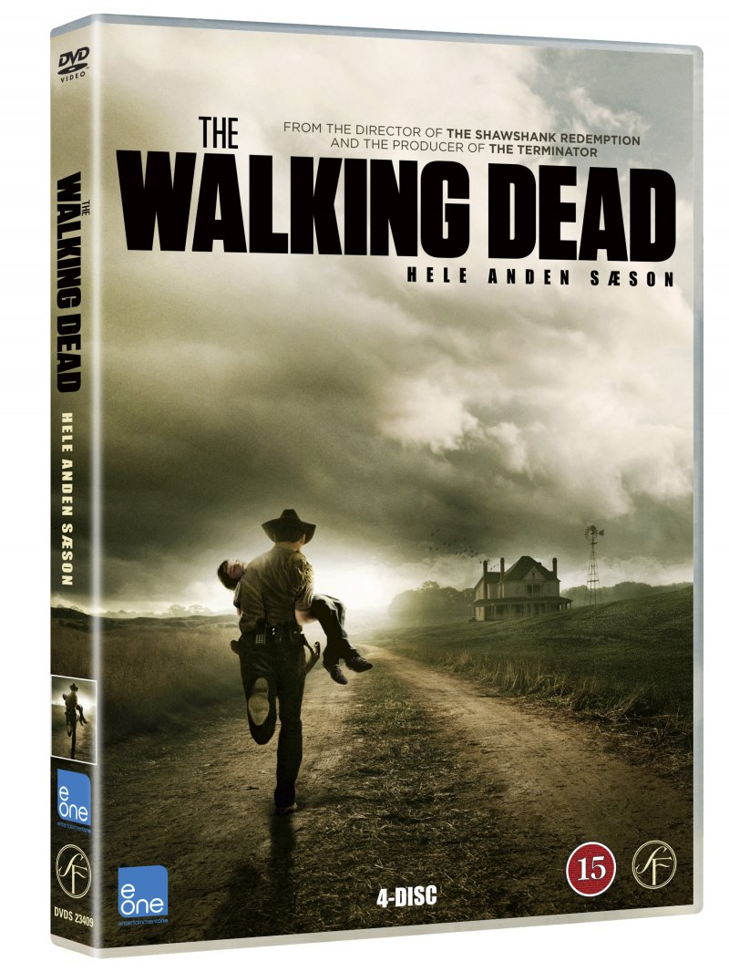 Image of   The Walking Dead - Sæson 2 - DVD - Tv-serie