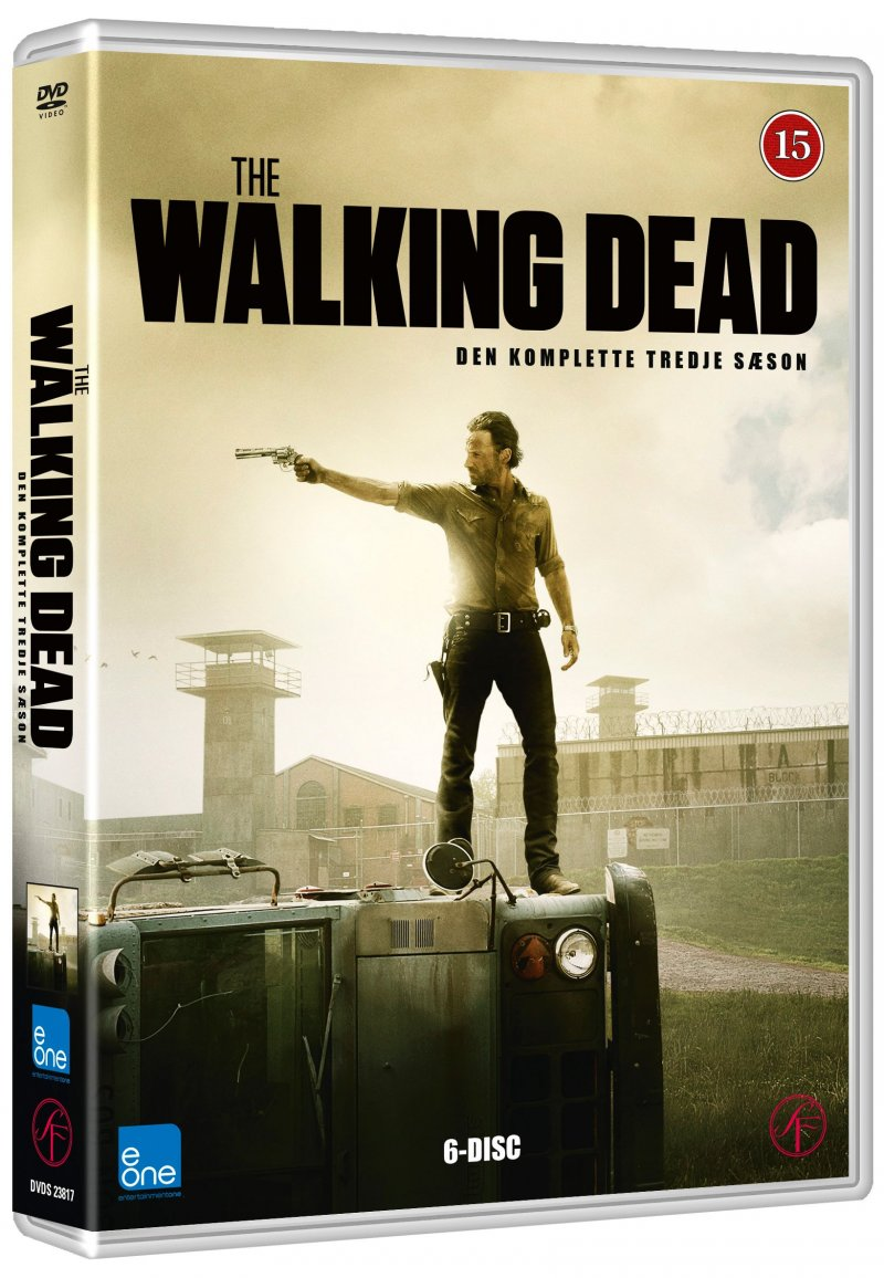 Image of   The Walking Dead - Sæson 3 - DVD - Tv-serie