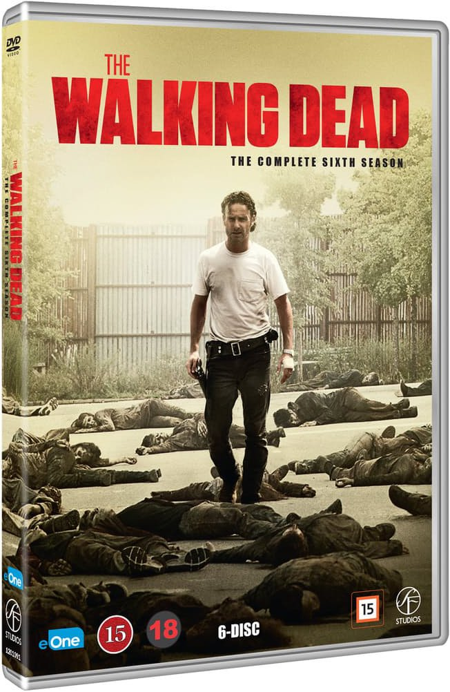 Image of   The Walking Dead - Sæson 6 - DVD - Tv-serie